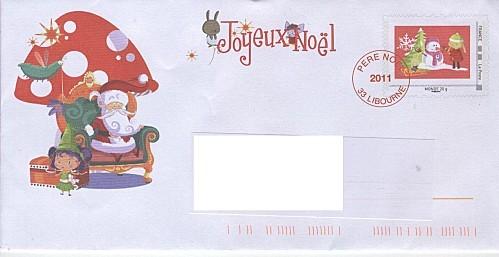 lettre père noël 2011
