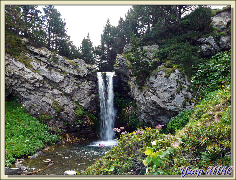 Petite cascade - Vallée d'Eyne - 66