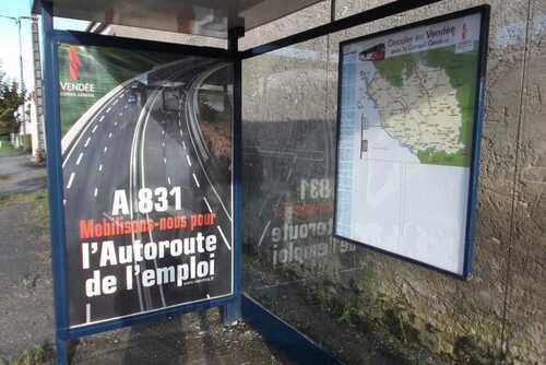 Sortie de route confirmée pour l'A831.