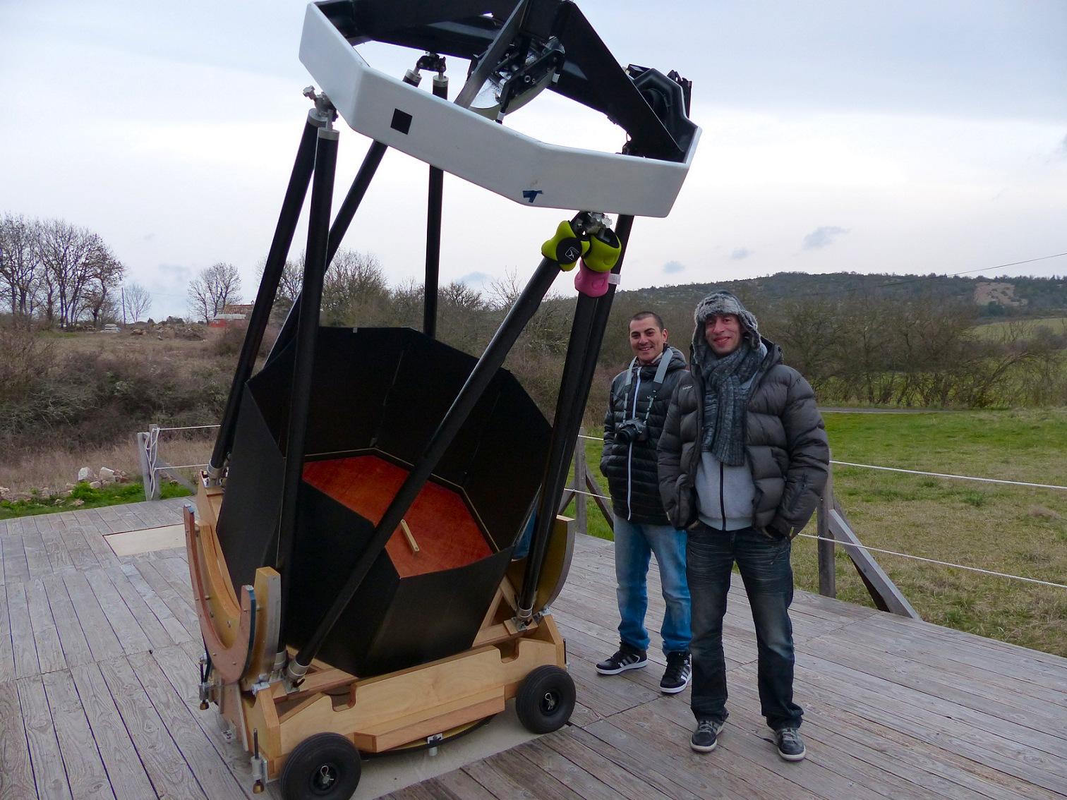 telescope 1m stellarzac