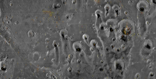 HiRISE Browse Map