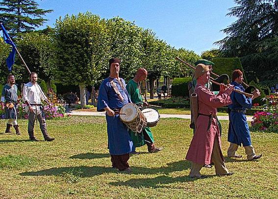 Curragh aux médiévales de Pons 2016