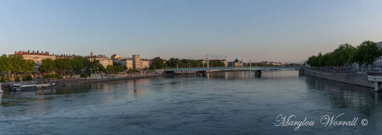 Lyon : Au bord de l'eau