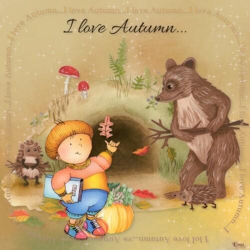 Créations sur le thème de l'automne et Halloween