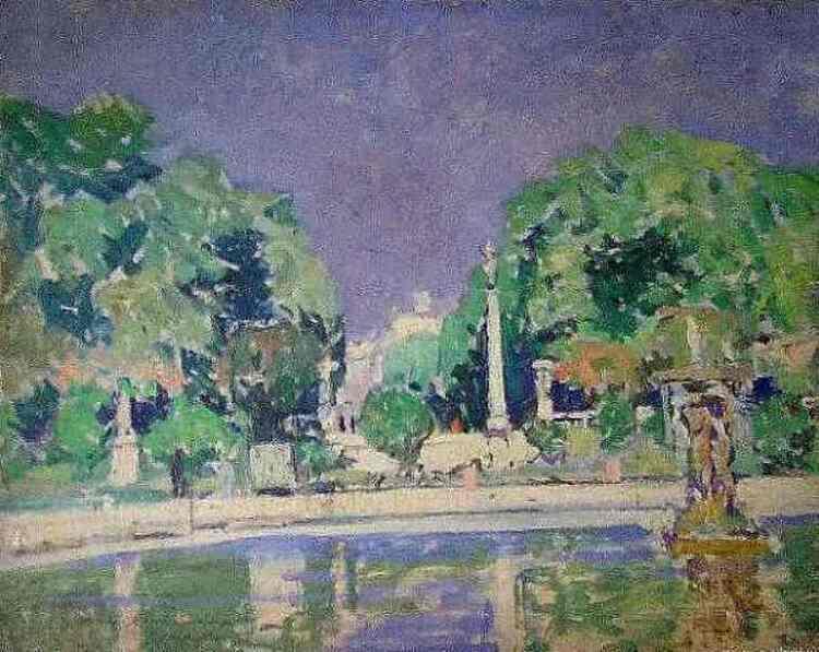George Oberteuffer. Jardin du Luxembourg