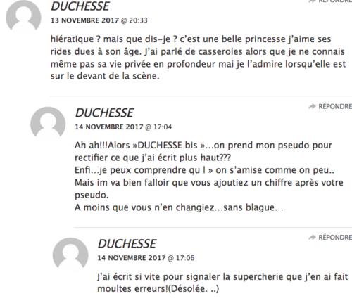 je m'amuse sur mon blog duchesse-prado 74
