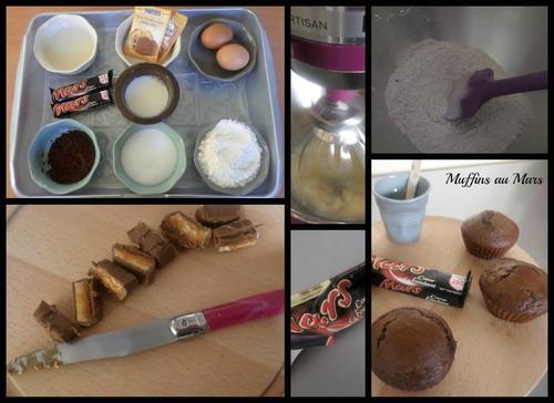 Muffins aux Mars