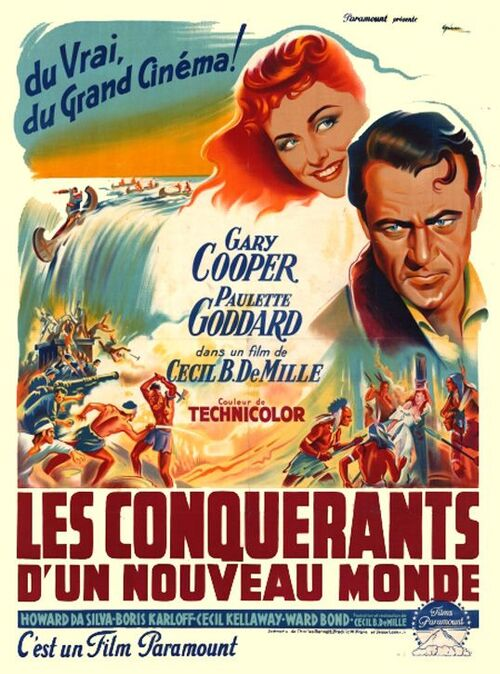 LES CONQUERANTS D'UN NOUVEAU MONDE - BOX OFFICE 1950