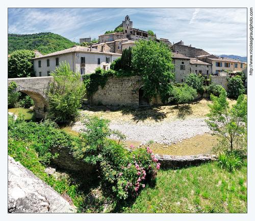 Le Roubion de Soyans à Pont de Barret