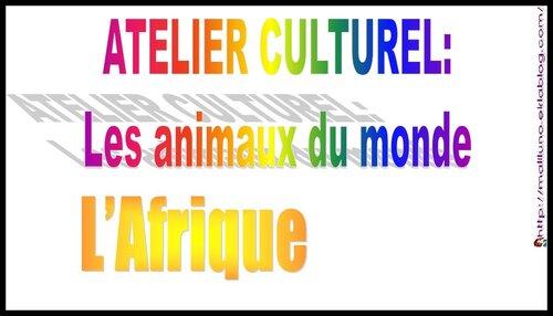 Ateliers culturels: 2019-2020: notre Monde, notre Continent, notre Pays