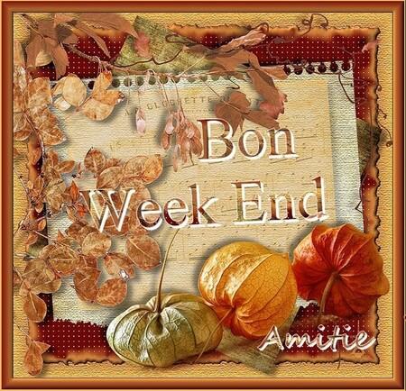 fin de semaine .....