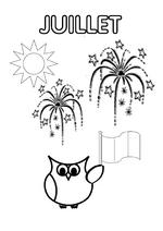 Mois de l'année - page du cahier de vie