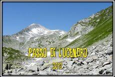 Le Passo di Lucendron entre Tessin et Grisons en Suisse