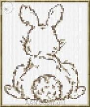 La Bunny girl.