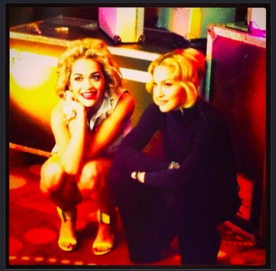 Rita Ora's Twitter -  Happy Birthday to the original the icon that is Madonna