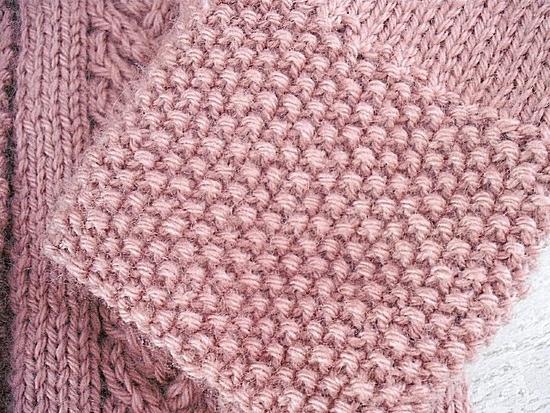manteau rose détail 3