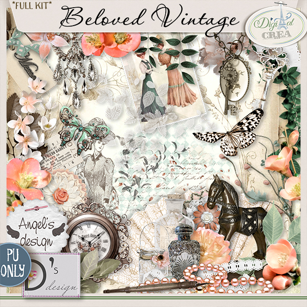 Beloved Vintage By DOUDOU'S DESIGN & Angel's Designs