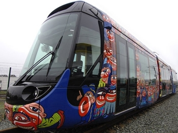 tramway aubagne