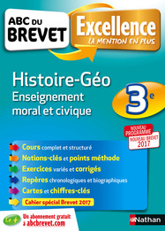 Manuel d'histoire - géographie - EMC 3ème