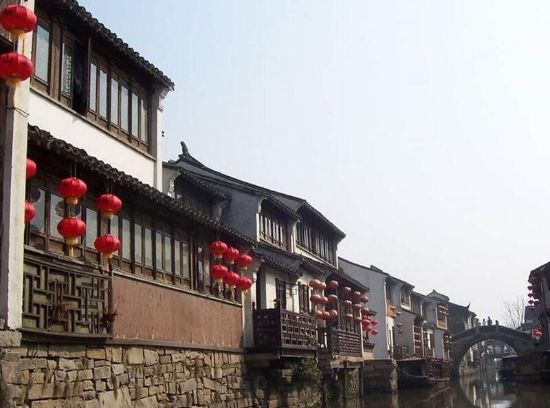 PRES DE SHANGHAI VOYAGE 2014  VENISE DE CHINE