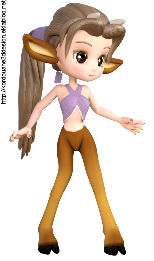 "Tube de ""Cookie"" bambi (render-image)"
