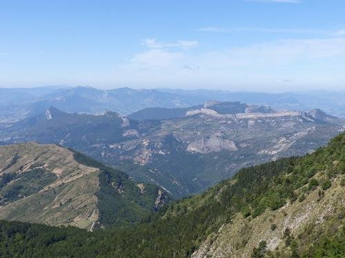 Montagne de Mélan (préalpes de Digne)