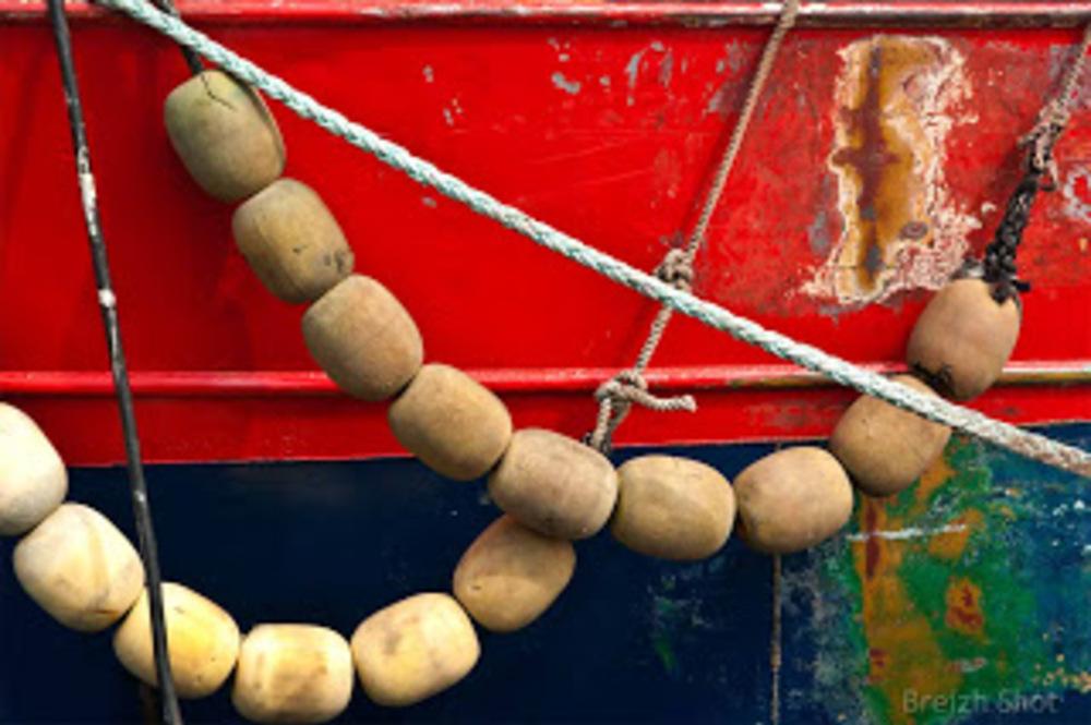 Le chalutier de fond Héliotrope - Lorient