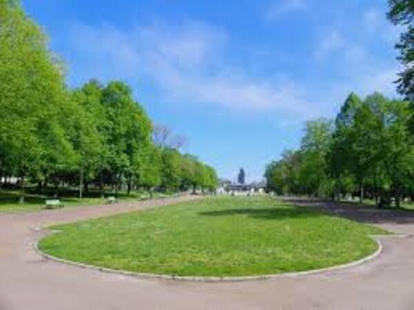 Le parc Roger-Salengro de Nevers
