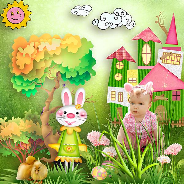 Easter Bunny de Kastagnette