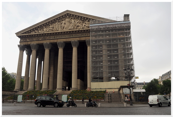 Eglise. La Madeleine Paris.