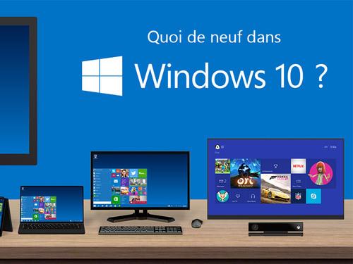 Windows 10 sera le dernier Windows, enfin, plus ou moins