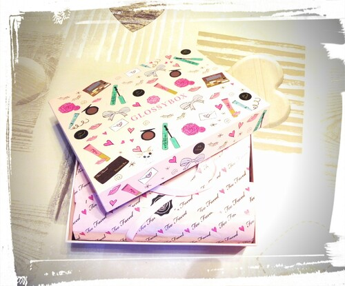 *Glossybox too faced avril 2016