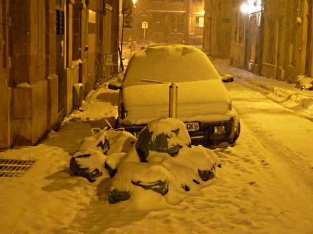 Metz sous la neige 5 décembre mp1357 2010