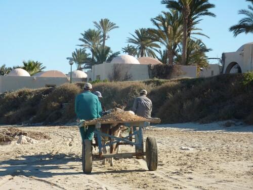 Retour à l'ancien temps en tunisie du sud