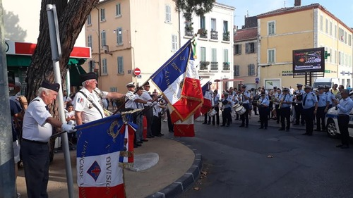 * Fondation France libre Délégation du Var - Cérémonie du 75ème Anniversaire de la Libération du Pradet
