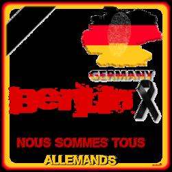 soutien pour nos amis allemands
