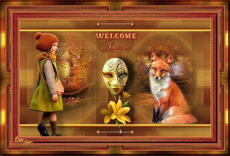 welcome autumn  de Saturnella