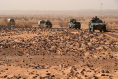 Mali: un véhicule de l'armée française saute sur une mine à Kidal, pas de victime