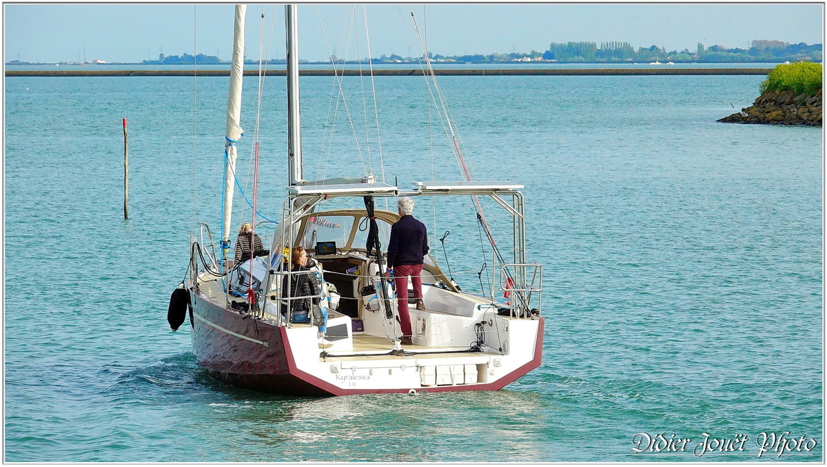 85 . Noirmoutier en l'île - Le Port & la Jetée Jacobsen