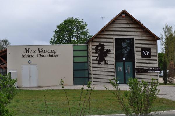 Visite de la Chocolaterie Max Vauché !