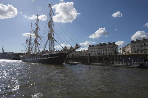 Le Belem retrouve son port d'attache
