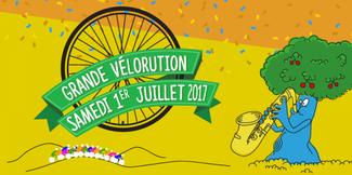 Vélorution le samedi                                               1er juillet pour rallier                                               le week-end festif des                                               Opposants à l'A45