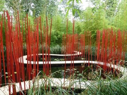 Chaumont sur loire et son festival des jardins