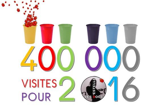 400 000 visites pour le 1er de l'an 2016 ?