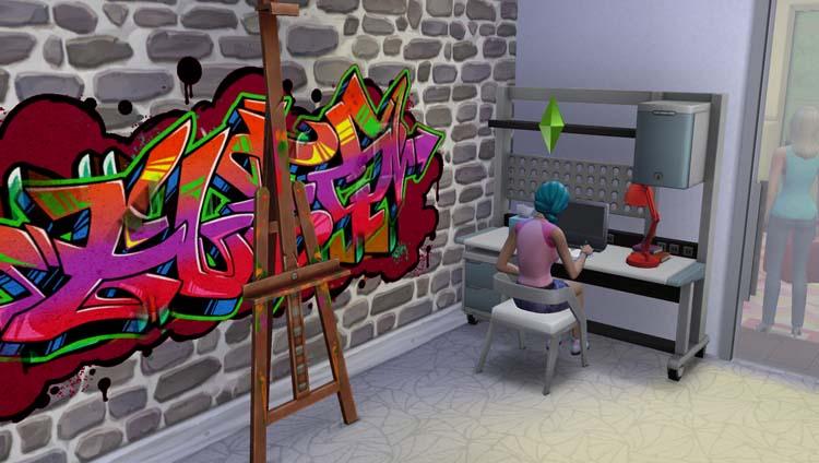 Sims 4 la Maison Morne-Vert