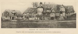 Manoir de Canapville, pl.1