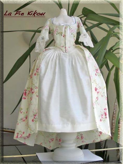 Robe à l'anglaise 1780