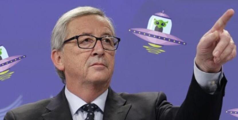 Jean Claude Juncker et les « dirigeants des autres planètes »