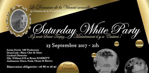 SOIREE BLANCHE A LA VIVARIE SEPT 2017