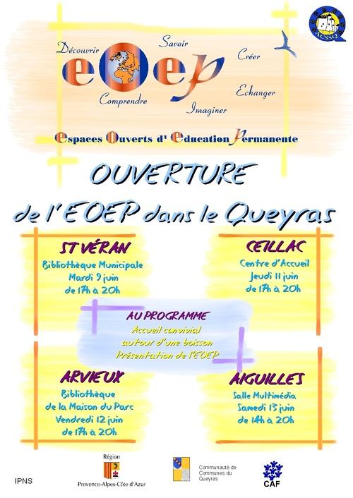L'EOEP ouvre ses portes!